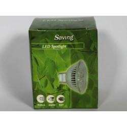 Ampoule LED GU5.3 3W blanc chaud