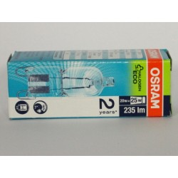 Ampoule OSRAM HALOPIN ECO G9 20W