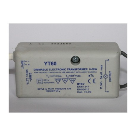 transformer halogen / LED 12V 60W
