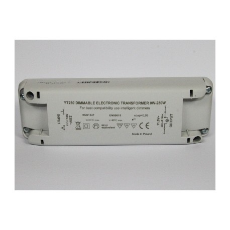TRANSFORMER halogen / LED 12V 250W