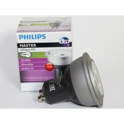 PHILIPS MASTER LEDspot GU10 MV TO 5.4 W 4000K 40D DIMMABLE
