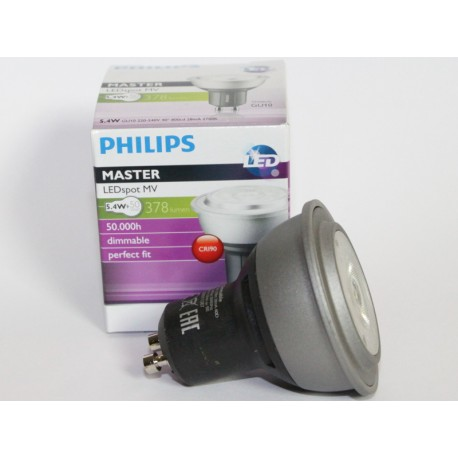 PHILIPS MASTER LEDspot GU10 MV 5,4W 2700K 40D DIMMABLE