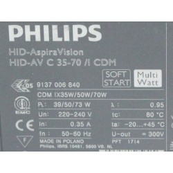 Philips HID-AV C 35-70 /I CDM 220-240V 8718291233121