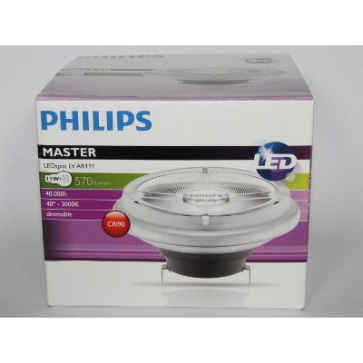 LV AR111 PHILIPS MASTER 50W 24D LEDspot 11W 2700K vOmn0N8w