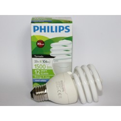 ampoule PHILIPS Tornado 23W CDL 6500K COOL DAYLIGHT