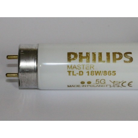 Philips Master TL-D 18W/865 (860) Super 80 Tube