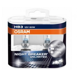 Osram Nightbreaker Unlimited 12V HB3 60W 9005NBU