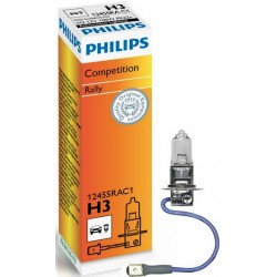 Philips H3 Rally For race only C1 100W 12V PK22s 12455RAC1