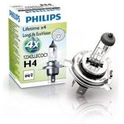 Philips H4 LongLife EcoVision C1 60/55W 12V P43t-38 12342LLECOC1