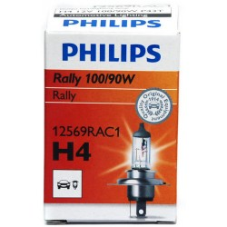 Philips H4 Rally for race only C1 100/90W 12V P43t-38 12569RAC1