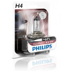 Philips H4 Vision Plus B1 60/55W 12V P43t-38 12342VPB1
