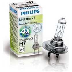 Philips H7 LongLife EcoVision C1 55W 12V PX26d 12972LLECOC1
