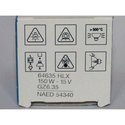 64635 HLX HLX 64635 150W 15V REPLACEMENT BULB FOR OSRAM SYLVANIA 64635