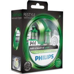 Philips ColorVision Vert H4 12V 60/55W