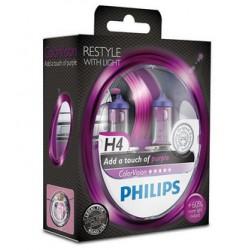 Philips ColorVision VIOLET H4 12V 60/55W