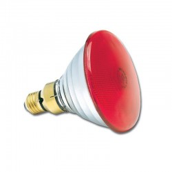 Sylvania PAR38 80W 230V E27 30° Flood RED