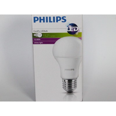 4x Philips 13W = 100W E27Screw LED CorePro Light Bulb Frosted Warm White 1521lm