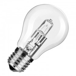 Ampoule halogène classic E27 52W