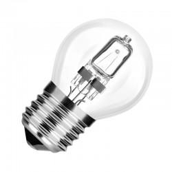 Ampoule halogène sphérique E27 28W