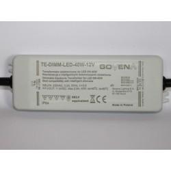 Transformateur électronique pour LED 40W 12V