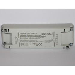 Transformateur électronique pour ruban à LED 60W 12V