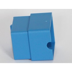 blue part for flush-mounting box