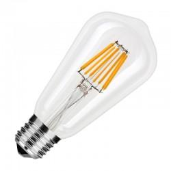Filament LED ST64 8W/827 E27