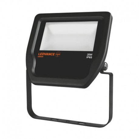 Ledvance Floodlight LED 20W/4000K Black IP65 2000lm