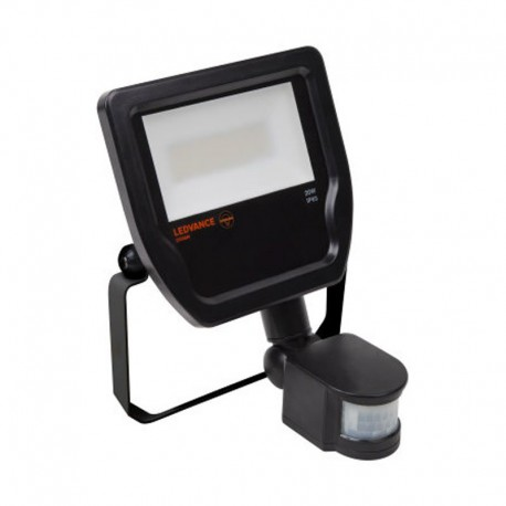 Projecteur Ledvance Floodlight LED 20W/3000K Black Sensor IP65 1900lm