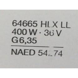 Osram Xenophot 64665 HLX 400W 36V G6.35