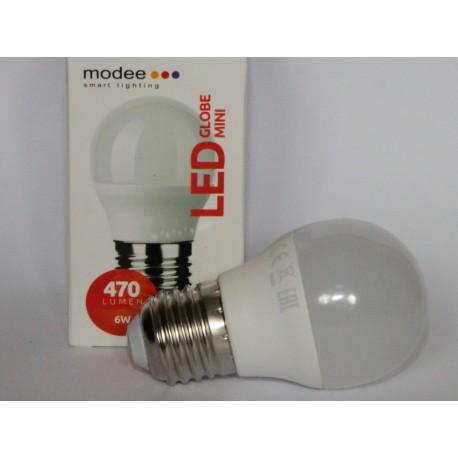 Ampoule LED sphérique G45 6W/827 E27