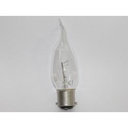 ampoule flamme B22 40W coupe vent
