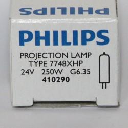 Philips 7748XHP 250W 24V G6.35 EHJ Focusline Flat Filament SE