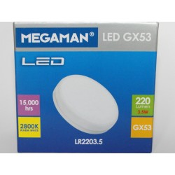 Megaman LED GX53 3.5 W-220lm-GX53/828