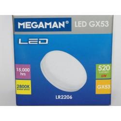Megaman LED GX53 7W-520lm-GX53/828