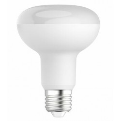LED R80 10W/830 E27 warm white