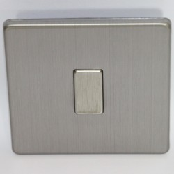 Switch to simple touch brushed steel