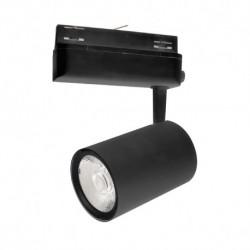 Spot LED sur Rail Noir 35W 3000°K 3025 LM ( 3 phases )