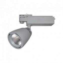 Spot LED sur Rail Gris 40W 4000°K 2950 LM