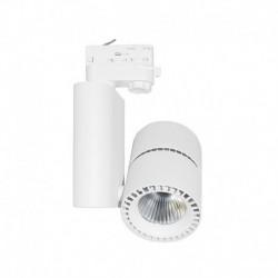 Spot LED sur Rail Blanc 40W 4000°K 3600 LM
