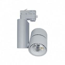 Spot LED sur Rail Gris 40W 4000°K 3600 LM