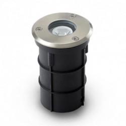 Spot encastrable LED DIAM 62 3W Rond Bleu IP67