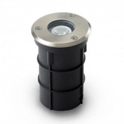Spot encastrable LED DIAM 62 3W Rond 3000°K IP67