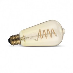 Ampoule LED E27 ST64 Filament Spirale 4W 2700 Kelvin 160 lumen