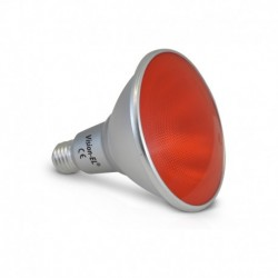 Ampoule LED E27 PAR38 16W Rouge