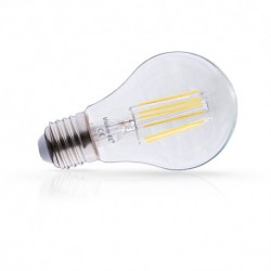 Ampoule filament LED E27 4W 4000 Kelvin lumière blanche 440 lumen