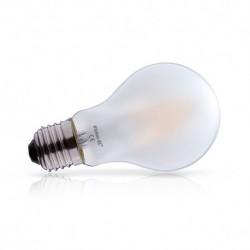 Ampoule filament LED E27 6W dépoli 4000 Kelvin lumière blanche 720 lumen