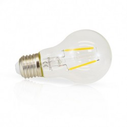 Ampoule filament LED COULEUR E27 2W JAUNE