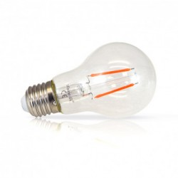 Ampoule filament LED COULEUR E27 2W ROUGE