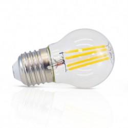 Ampoule filament LED sphrérique E27 4W DIMMABLE 2700 Kelvin G45 blanc chaud 495 lumen